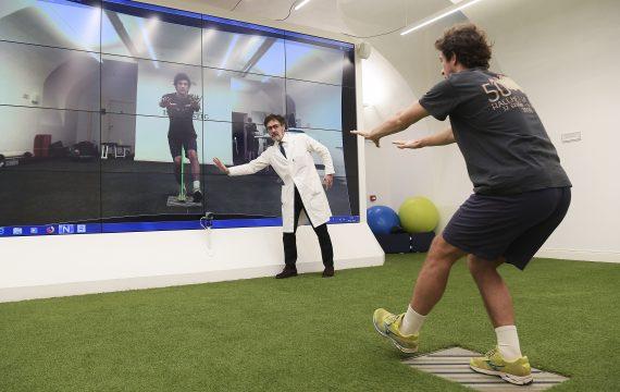 Foto LaPresse - Fabio Ferrari29 Novembre 2018Centro Isokinetic | Medicina dello Sport e Riabilitazione Ortopedica |