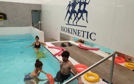 hydrotherapy _pool rehabilitation_Isokinetic central london