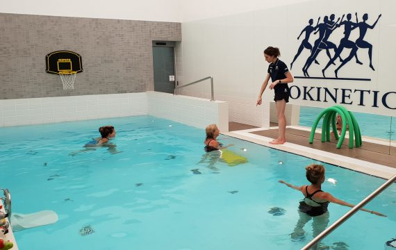 hydrotherapy_physiotherapy in private pool _Isokinetic Central london