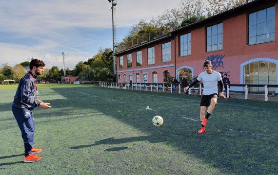 riabilitazione su campo_movimento sport specifico_Isokinetic Roma