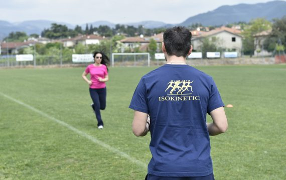 riabilitazione sul campo sportivo Isokinetic Verona