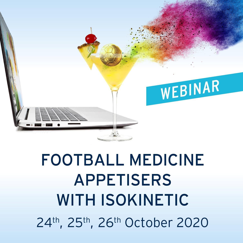 Webinar – FOOTBALL MEDICINE APPETISERS WITH ISOKINETIC