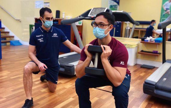 Sports rehabilitation Isokinetic