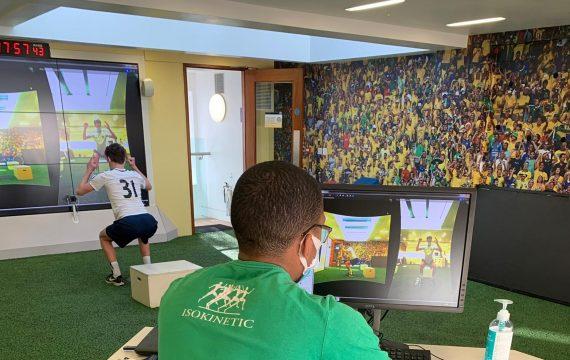 Green Room training Isokinetic